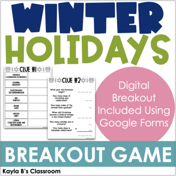 Breakout Game: Winter Holidays