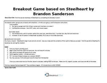 Breakout Game for Steelheart