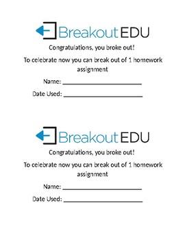 Breakout Homeworkpass