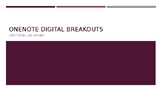Breakout Planning Template for OneNote