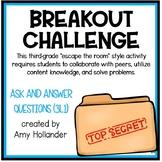 Breakout Challenge- Reading Literature