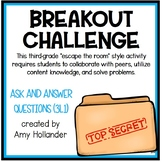 Breakout Challenge- Reading Literature (Ask & Answer Questions)