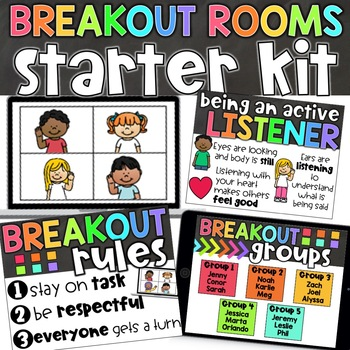 Breakout Room Rules   Zoom and Google Meet   Behavior Expectations and Planning