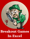 Breakout Session Games for Microsoft Excel