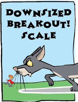 Downsized Breakout! Scale Digital Escape Room