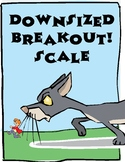 Downsized Breakout! Scale Digital Escape Room