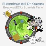 Breakout EDU Spanish Time