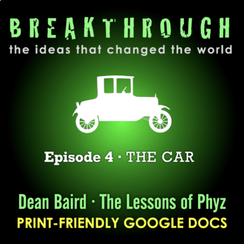 Breakthrough: The Ideas That Changed the World - Episode 4: The Car
