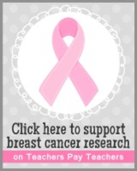 Breast Cancer Awareness Banners and Buttons