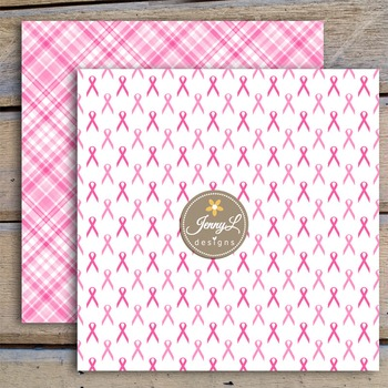 Breast Cancer Awareness Digital Papers