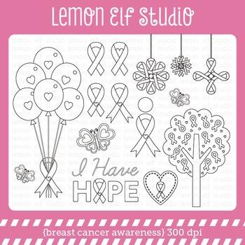 Breast Cancer Awareness-Digital Stamp (LES.DS59)