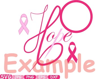 Breast Cancer awareness SVG clip art swirl Cutting ribbon day angel wings  -202S