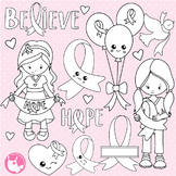 Breast cancer stamps commercial use, vector graphics, images  - DS1028