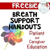 Breath Support Handouts