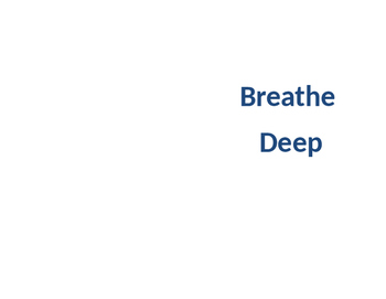 Breathe Deep: A story for deescalating through breathing a