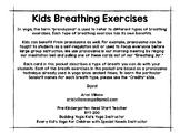 Yoga Breathing Cards