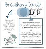 Breathing Cards for the Classroom