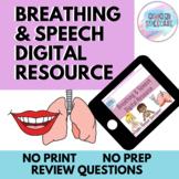 Breathing & Speech Activity | Digital Resource | Distance