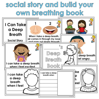 Deep Breath Visuals for Autism & Special Education