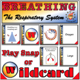 Breathing and the Respiratory System-Wildcard & Snap Card Games-Middle School