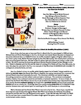 Breathless Film (1960) Study Guide Movie Packet