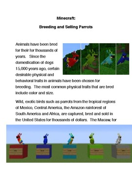 Breeding and Selling Parrots