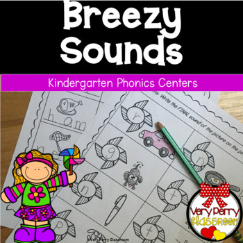 Breezy Sounds: Practicing Sound identification, rhyming, & sound substitution