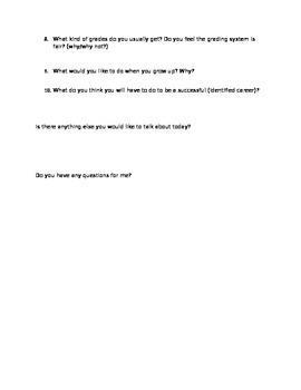 Breif Student Interview