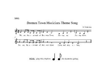 Bremen Town Musicians Lesson