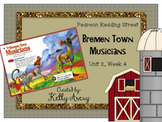 2nd Grade Reading Street Bremen Town Musicians 2.4