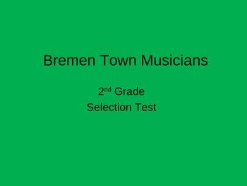 """""""Bremen Town Musicians"""" Selection Test"""