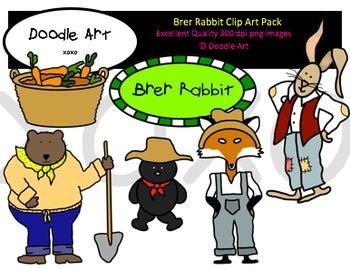 Brer Rabbit Clipart Pack