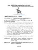 Brer Rabbit Earns a Dollar-A-Minute - Small Group Reader's Theater
