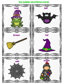 Brewing Halloween Syllables