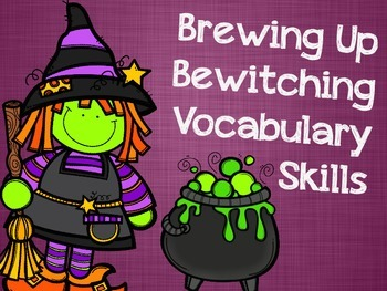Brewing Up Bewitching Vocabulary Skills