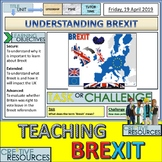 Brexit Bundle Teaching Pack PowerPoints & Worksheets