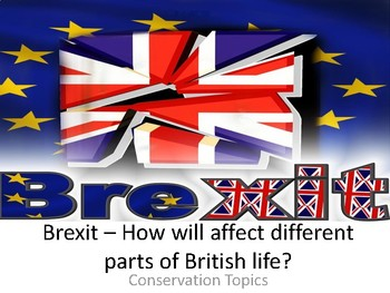 Brexit Conversation Ideas - Children think about the positives and negatives