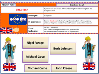 Brexit Viewpoints Lesson