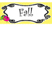 Bright Birdies themed Printable What Is the Season Bulletin Board Set.