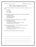 Brian's Winter Chapter 1 Quick Quiz