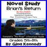 Brian's Return Novel Study & Enrichment Project Menu