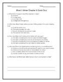 Brian's Winter Chapter 3 Quick Quiz