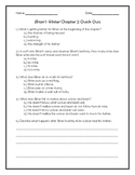 Brian's Winter Chapter 2 Quick Quiz