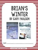 Brian's Winter by Gary Paulsen Novel Packet