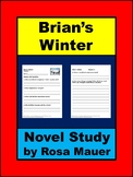 Brian's Winter Novel Study