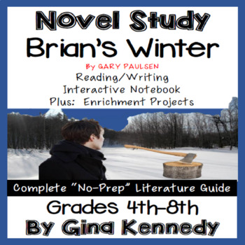 Brian's Winter Novel Study & Enrichment Project Menu