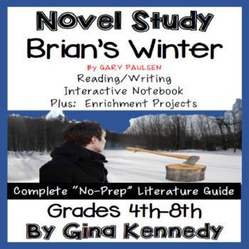 Brian's Winter Novel Study & Project Menu