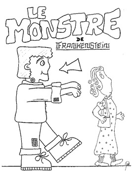 Brian's FRENCH Halloween Coloring Pages