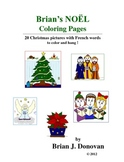 Brian's NOËL Coloring Pages