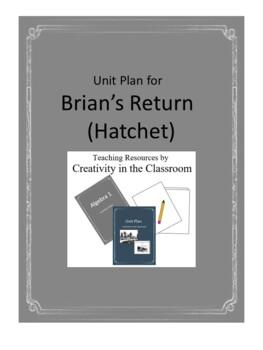 Brian's Return Novel Unit Plus Grammar